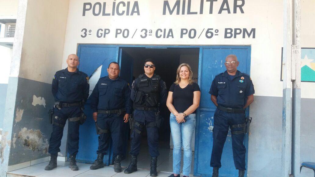 ABUNÃ - Vereadora Ada Dantas busca reforma da base da PMRO