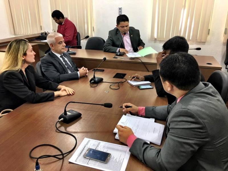 Audiência de instrução legislativa para debater precariedade da Central de Polícia