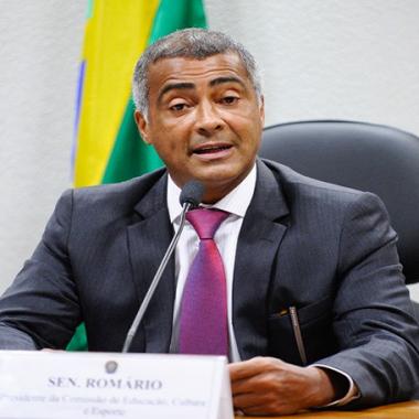 Romário não descarta candidatura à Presidência da Republica: 'Pode acontecer'