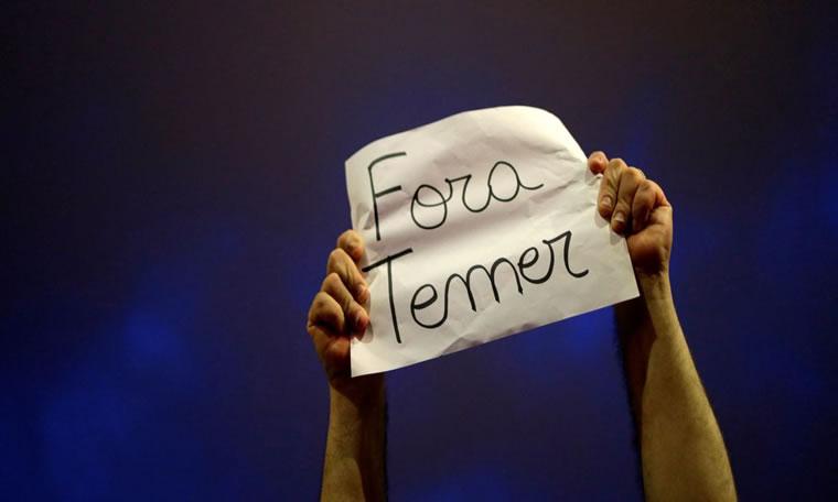 Cinco capitais têm protestos contra Temer na manhã deste domingo