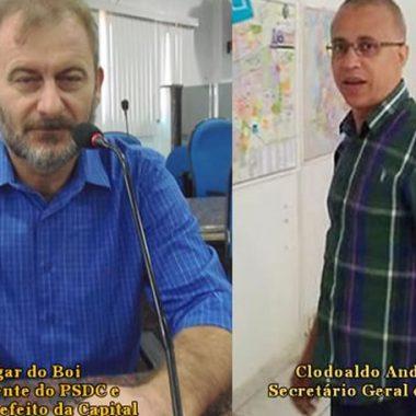 Edgar do Boi e Clodoaldo Andrade dirigentes do PSDC em Rondônia são citados no esquema de Corrupção da JBS