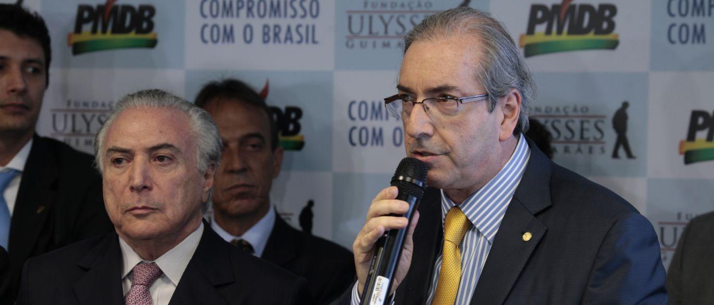 Cunha irá responder a parte das perguntas feitas a Temer pela PF