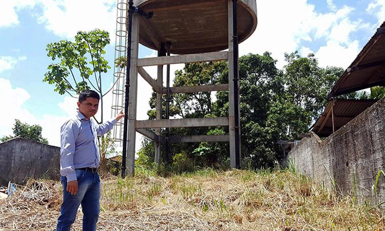 Deputado Jesuíno oficializará Caerd sobre obra parada no Bairro Nacional