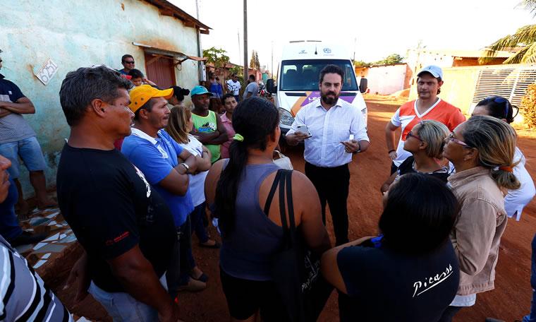Deputado Léo Moraes anuncia melhorias para os bairros Planalto I e II