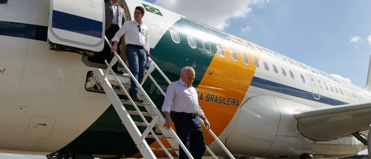 Após passar fim de semana em SP, Temer embarca para Brasília