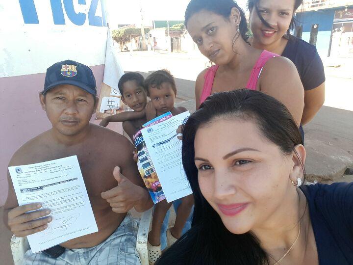 BAIRRO CONCEIÇÃO: Moradores agradecem tapa -buracos solicitado pela Vereadora Ada Dantas Boabaid