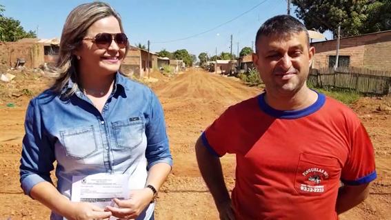 BAIRRO SÃO FRANCISCO Vereadora Ada Dantas acompanhou a limpeza das Ruas juntamente com moradores