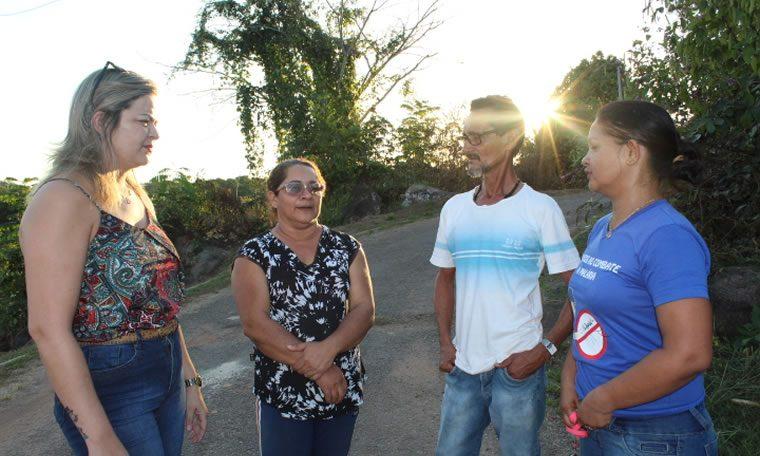 FORTALEZA DO ABUNÃ: Vereadora Ada Dantas Boabaid solicita limpeza, iluminação e sinalização