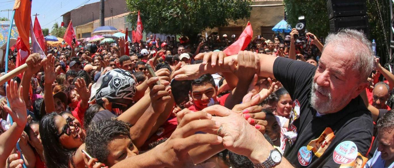 Lula começa campanha para 2018 pelo Nordeste