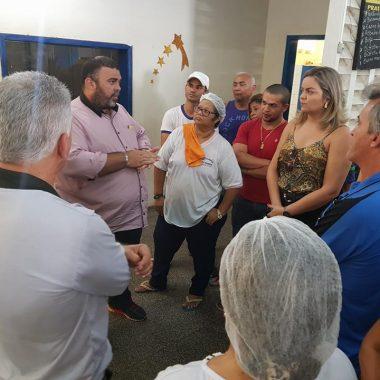 MERCADO KM1 – Vereadora Ada Dantas atende reivindicações dos permissionários