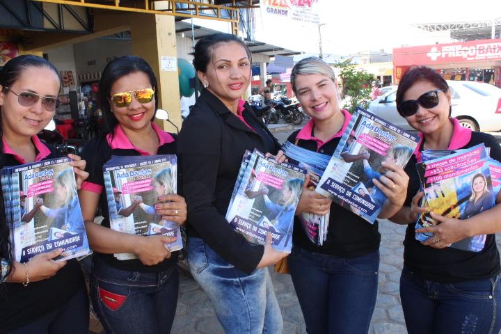 Vereadora Ada Dantas agradece o apoio da população recebido nas Ruas de Porto Velho