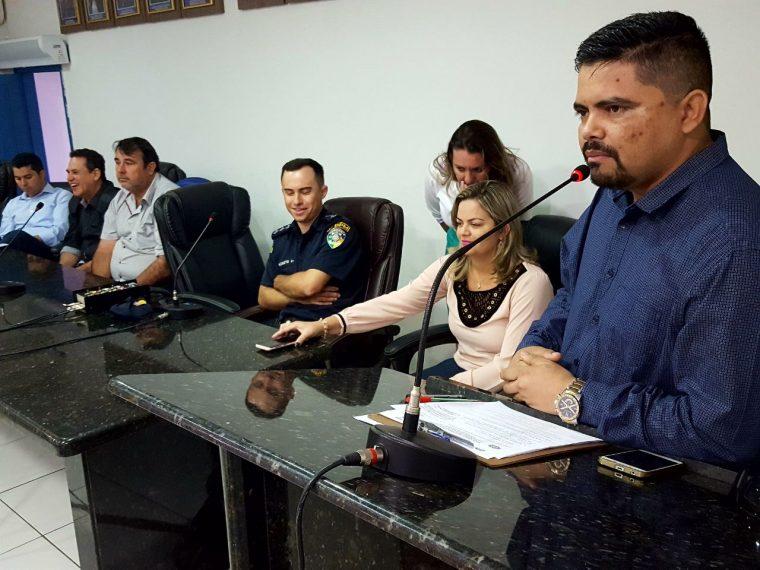 Militares de São Miguel do Guaporé recebem Voto de Louvor do Deputado Jesuíno Boabaid