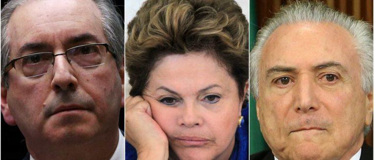 Conheça os 108 deputados que votaram contra Cunha, Dilma e Temer