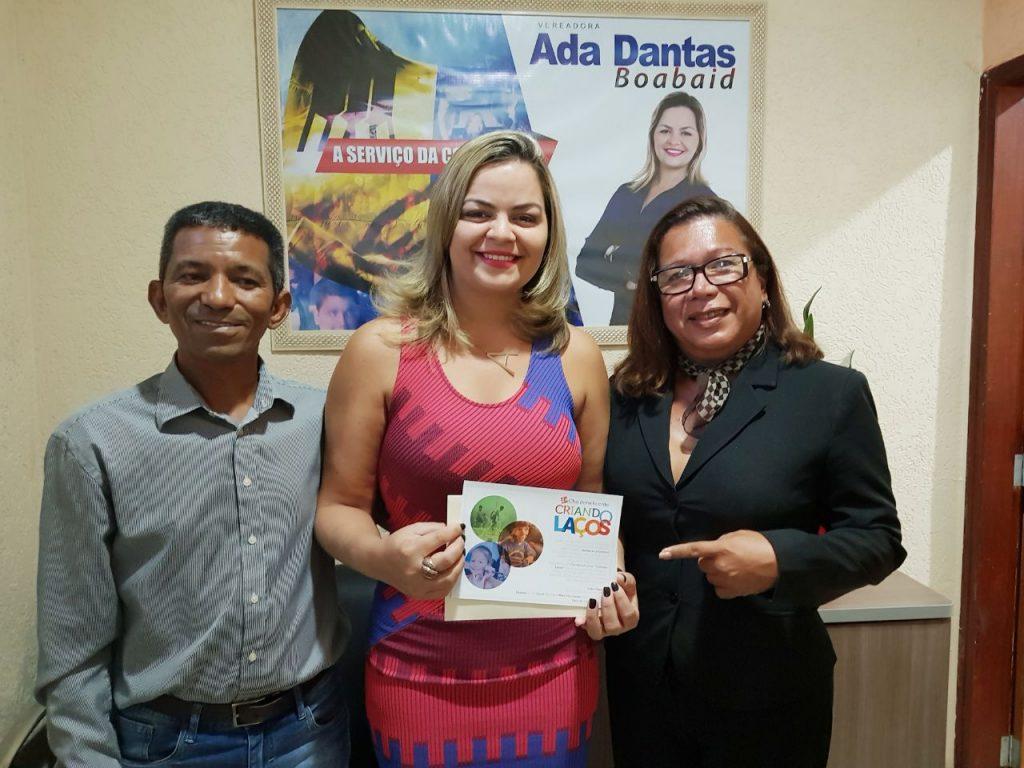 Vereadora Ada Dantas apoia Chá beneficente para o dia das crianças