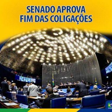 ELEIÇÕES  – Comissão aprova PEC que prevê fim das coligações eleitorais