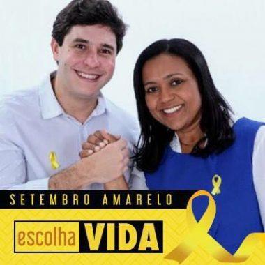 """Joelna Holder e Maurício Carvalho e lançam a campanha """"Escolha Vida"""""""