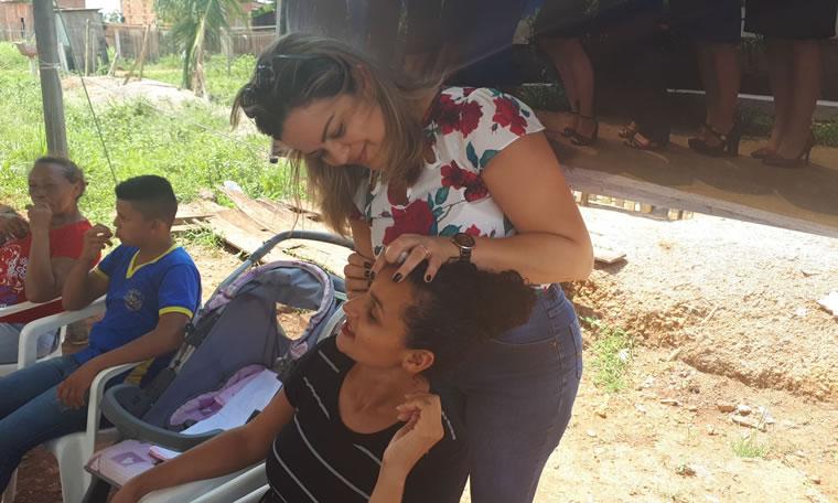 Bairro Universitário recebeu Ação Social da Vereadora Ada Dantas para prevenção do câncer de mama