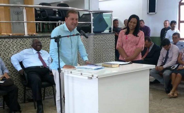 'Aquilo que ela entende que é certo ela defende, com bom senso', diz prefeito sobre Joelna Holder em reunião em Porto Velho