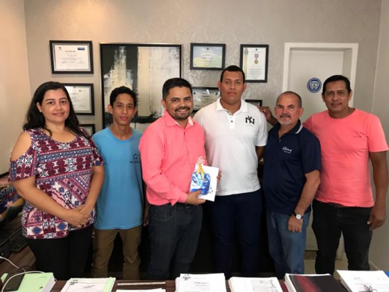 Professores do Colégio Marcelo Cândia agradecem deputado Jesuíno por apoio a viagem