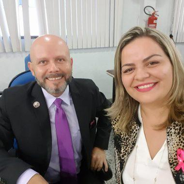 Vereadora Ada Dantas agradece ao Vereador Aleks Palitot homenagem aos tacacazeiros de Porto Velho