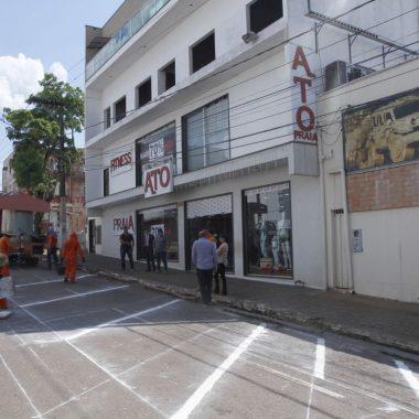 Júnior Cavalcante tem pedido atendido no centro de Porto Velho