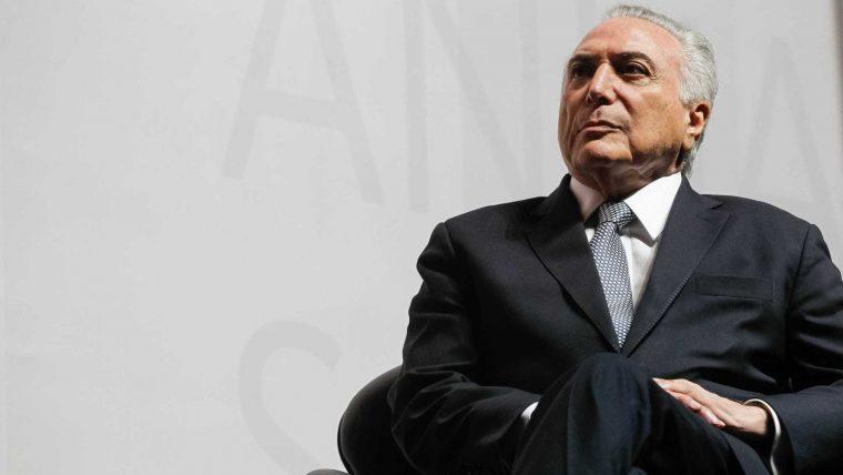 'Presidente não fica irritado', diz Temer sobre críticas de FHC