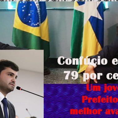 João Gonçalves, de Jaru, é o Prefeito melhor avaliado no País
