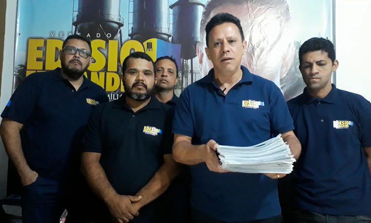 Edésio Fernandes volta nos bairros que fez pedidos de providências em 2017