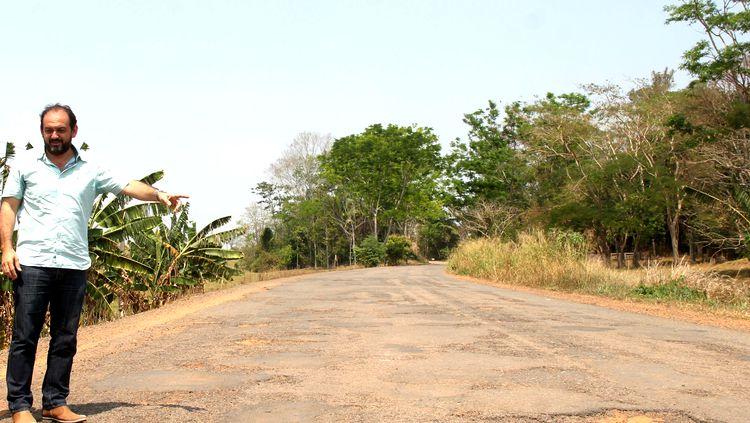 Laerte Gomes cobra do DER a recuperação da RO-135