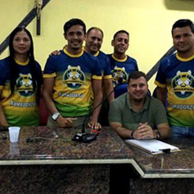 Vereador Marcelo Cruz dá o ponta pé pelo titulo da Copa Amadorzão