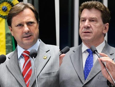 """ELEIÇÕES – Cassol e Gurgacz promete ser o """"UFC"""" da corrida ao governo do estado"""