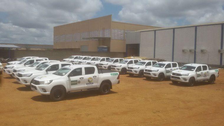 Mais 15 camionetes são adquiridas com recurso de Fundo Estadual de Sanidade Animal para atender municípios de Rondônia