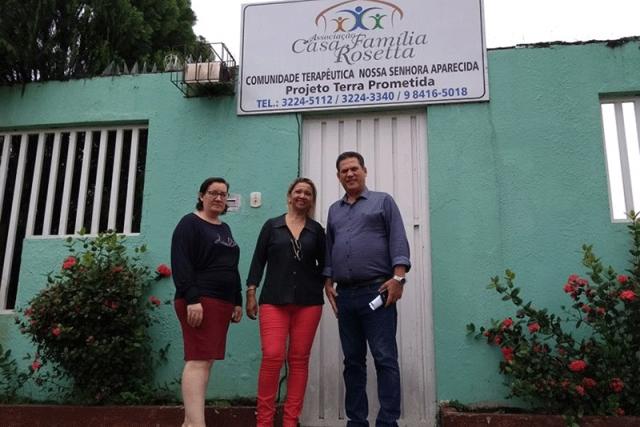 Maurão de Carvalho anuncia R$ 300 mil para ações da Casa Família Rosetta