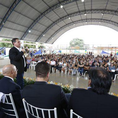 Presidente da Assembleia participa do início do ano letivo na rede estadual de ensino