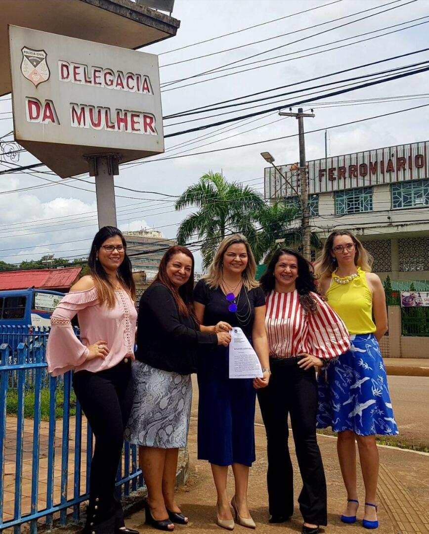 RESPEITO – Vereadora Ada Dantas anuncia reforma do prédio da Delegacia da Mulher