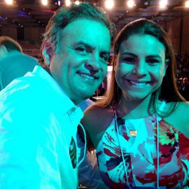 ELEIÇÕES – Após prisão de Lula, Aécio Neves vira o foco e pode prejudicar Mariana Carvalho