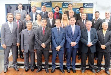 Diretoria eleita da Fecomércio toma posse para o mandato 2018/2022