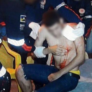 SEXTA FEIRA 13 – Cinco jovens são baleados em praça poliesportiva da capital