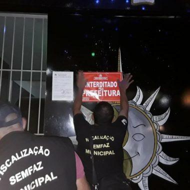 Bar da Zona Leste é interditado durante operação da PM e prefeitura em Porto Velho