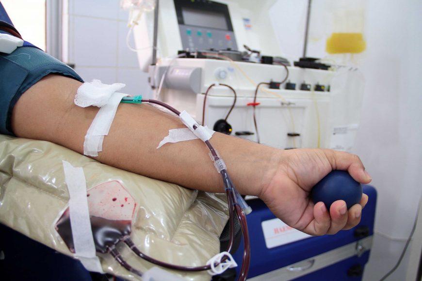 UTILIDADE PÚBLICA – Doação de sangue deve ser feita antes da imunização contra o sarampo, alerta Fhemeron