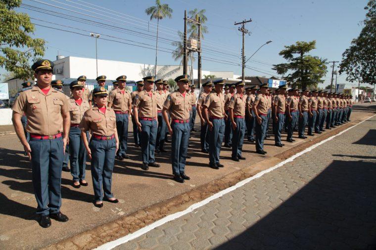 Formatura integra 86 novos soldados bombeiros na Cooperação de Rondônia