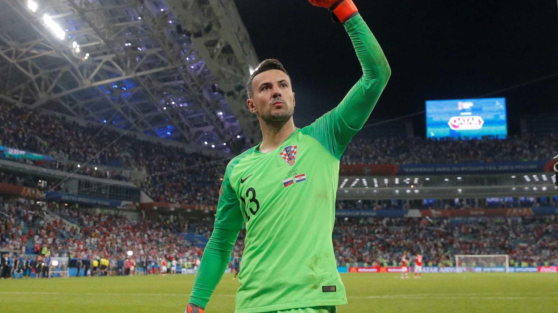 Herói da Croácia, goleiro conta como suportou dores contra Rússia
