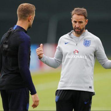 Ingleses se recuperam, treinam e vão com força máxima para encarar a Croácia