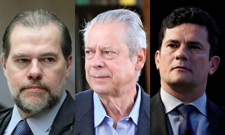 Toffoli cassa decisão de Moro que impôs tornozeleira eletrônica a José Dirceu