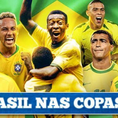 VÍDEO – O Brasil nas Copas do Mundo