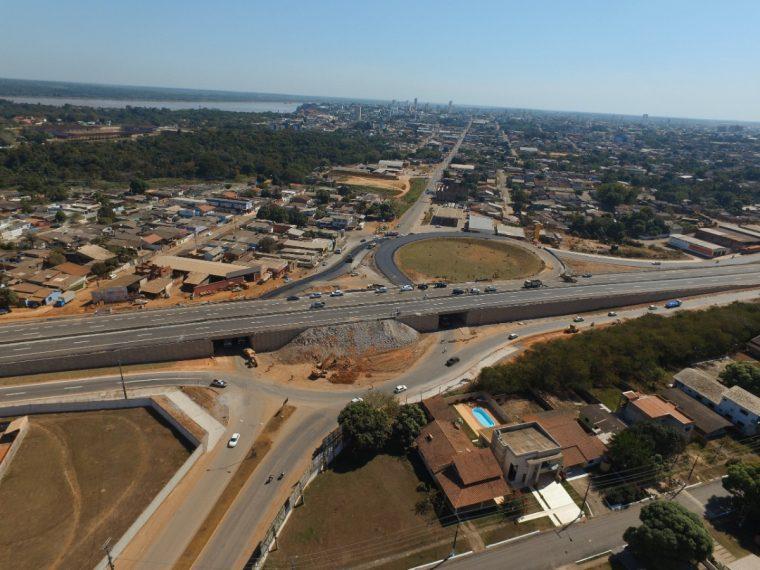 Viaduto da BR-364 com Campos Sales será aberto para o trânsito nesta quarta (4)