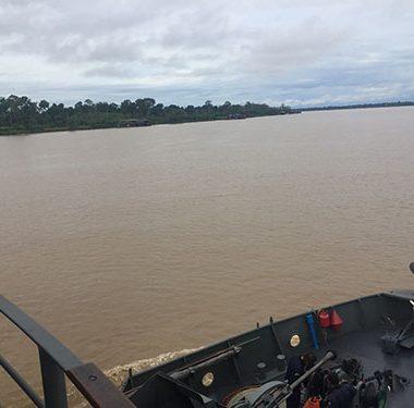 Marinha prende tripulante com 60 munições em embarcação no Rio Madeira