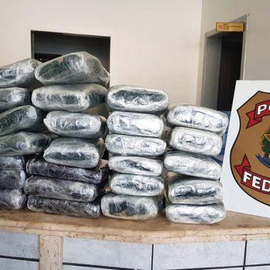 Polícia Federal prende mulheres com quase 40 quilos de drogas na rodoviária da capital