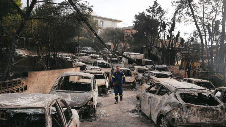 Incêndios na Grécia: 60 mortos e mais de 170 feridos