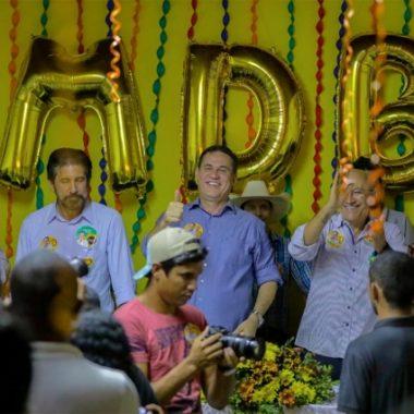 Maurão de Carvalho inaugura comitê em Cacoal e lembra que iniciou sua vida em Rondônia na cidade